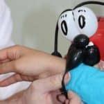 ein niedlicher Marienkäfer als Luftballonfigur