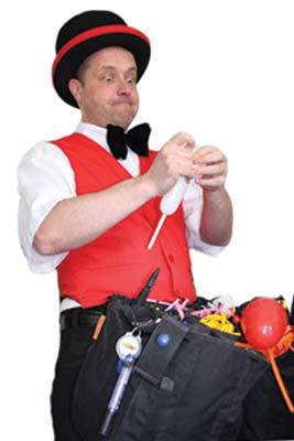 Sie sollten den Ballonkünstler in Mannheim buchen - Ihre Gäste werden begeistert sein