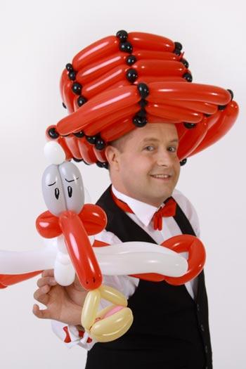 Der Ballonkünstler für Gewerbeschau und Co.