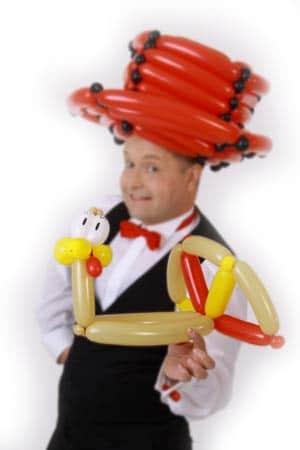 Ballonmodellieren mit dem Ballonkünstler