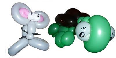 Der Ballonkünstler aus Schwäbisch Gmünd knotet tolle Ballontiere und Luftballontiere