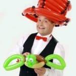 Ballonkünstler für Familientag