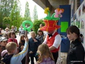 Der Ballonkünstler in Leonberg - Luftballonkünstler und Ballonclown als Kinderunterhaltung und Kinderprogramm in Leonberg buchen