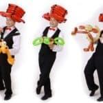 Ballonkünstler für Kinder mit Ballonmodellieren für Kinder