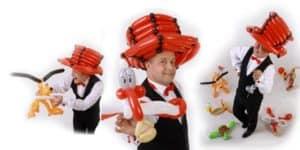 Der Ballonkünstler für Sommerfest und Tag der offenen Tür