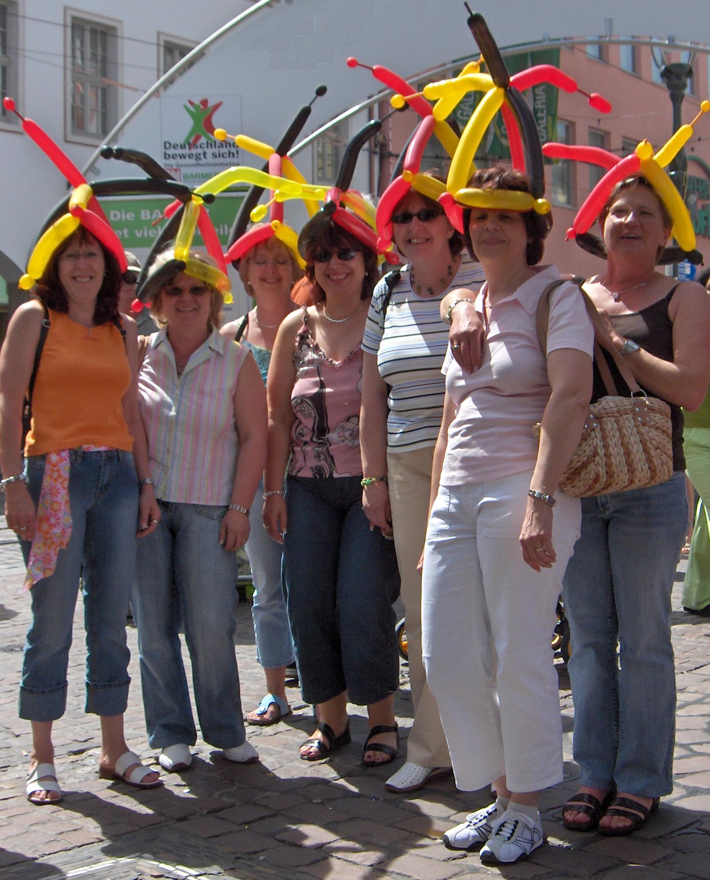 Ballonkünstler für Fanmeile - Public-Viewing - WM-Events und WM-Aktionen