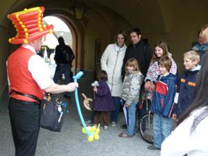 Ein Ballonkünstler aus Lindau - Luftballonkünstler in Lindau