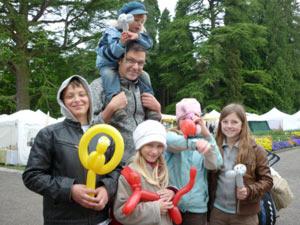Der Luftballonkünstler in Lindau als Ballonkünstler in Lindau und Ballonclown in Lindau - Unterhaltung für die ganze Familie