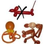 Ballonkünstler Autohaus Luftballonkünstler