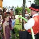 Ballonkünstler für Kinderfest
