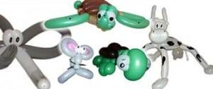 Für Fahrzeugpräsentation im Autohaus empfiehlt der Ballonkünstler tolle Ballonfiguren