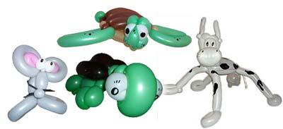 Wundervolle Luftballonfiguren gibt`s nur vom Ballonkünstler Markus Kaufmann - hier können Sie ihn anfragen