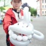 Ballonkünstler im Zoo – Tierpark