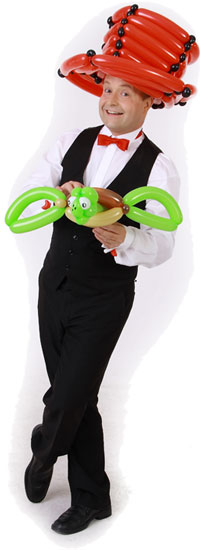 Ballonkünstler Böblingen mit Schildkröte
