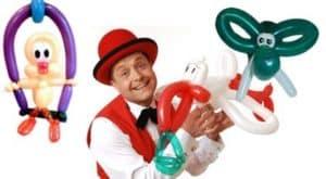 Bunte Ballonfiguren - der Ballonkünstler in Hechingen