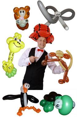 Ballonkünstler Ehningen - Ballonfiguren und Luftballonfiguren