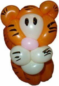 Ballonkünstler - Freudenstadt - Tiger - Ballonfiguren