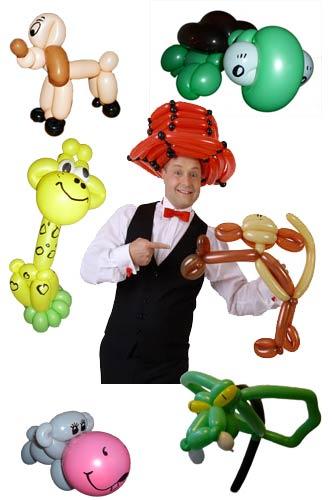 Ballonkünstler Nagold Ballonfiguren Luftballonfiguren für Kinder