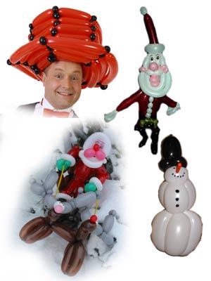 Ballonkünstler für Weihnachtsmarkt - Ballonkünstler Weihnachtsmarkt
