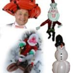 Ballonkünstler Weihnachtsmarkt Attraktion Highlight