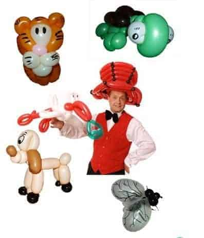 Ballonkünstler Aschaffenburg - Luftballonkünstler Aschaffenburg - Ballontiere und Luftballontiere - Ballonfiguren
