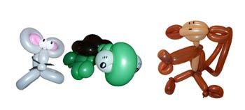 Luftballontiere zur Geschäftseröffnung