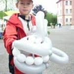 Ballonkünstler Strassenfest Luftballonfiguren für Stadtteilfest und Straßenfest