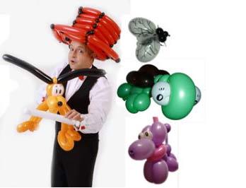 Ballonkünstler für Mitarbeitertag - Luftballonkünstler für Mitarbeiterfeier und Mitarbeiterfest