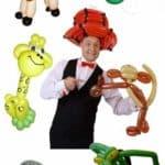 Ballonkünstler für Vereinsfeier und Vereinsfest