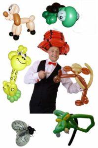 Der Ballonkünstler für Vereinsfeier - Vereinsfest mit Luftballonfiguren