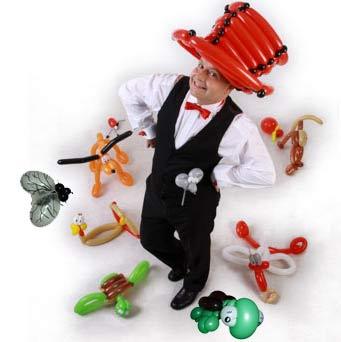 Ballonkünstler für Mitarbeitertag - tolle Ballonfiguren für Mitarbeiterfeier