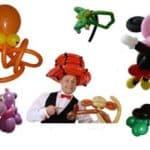 Ballonkünstler für Modenschau und Modenpräsentation
