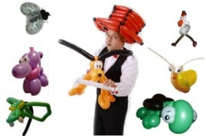 Ballonkünstler für Firmung - Konfirmation - Kommunion - Ballontiere und Ballonfiguren