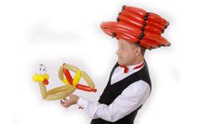 Luftballontiere Firmenfeier Ballonkünstler