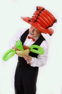 Der Ballonkünstler für Firmenfeier und Ballonkünstler für Betriebsfeier