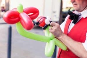 Ballonkünstler fürs Stadtfest