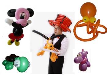 verkaufsoffener Sonntag Luftballonfiguren Ballonfiguren