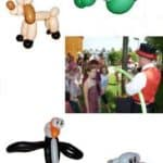 Ballonkünstler für Eröffnung