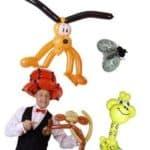 Ballonkünstler Eröffnung Schwäbisch Gmünd Luftballontiere Ballontiere