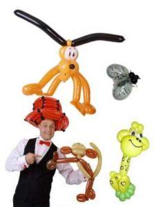 Ballonkünstler und Luftballonkünstler für Eröffnung in Schwäbisch Gmünd