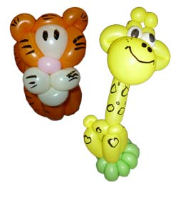 Luftballontiere vom Ballonkünstler bad herrenalb luftballontiere ballonfiguren und Ballonfiguren