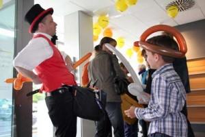 Ballonkünstler in Bad Säckingen