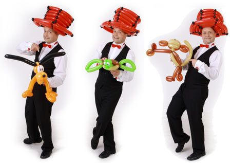 Ballonkuenstler-fuer-Hochzeit