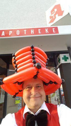 Ballonkünstler Apotheke