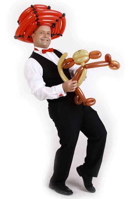 Ballondreher mit Affe