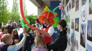 Ballonclown für Kinderfeste und Kinderevents
