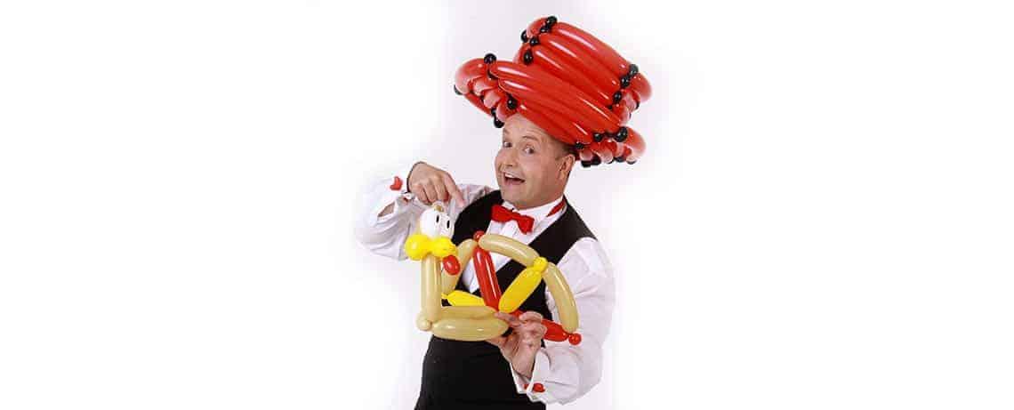 Ballonkünstler Familientag