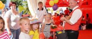 Ballonkünstler Kinder