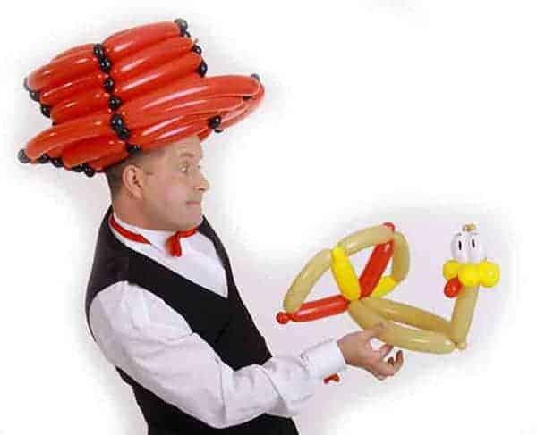 Ballonkünstler Hallstadt